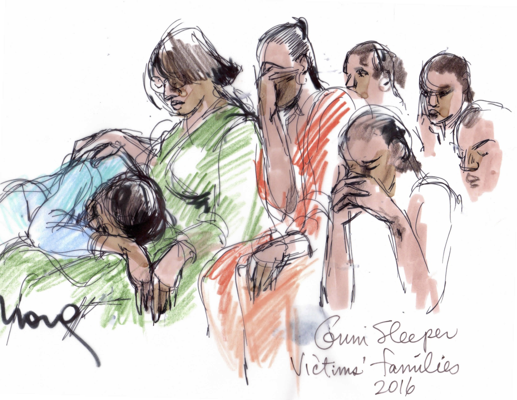 Grim Sleeper Trial Illustration