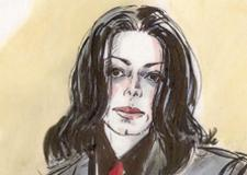Michael Jackson Child Molestation Courtroom Sketch