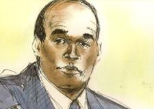 O.J. Simpson Murder Trial Courtroom Illustration