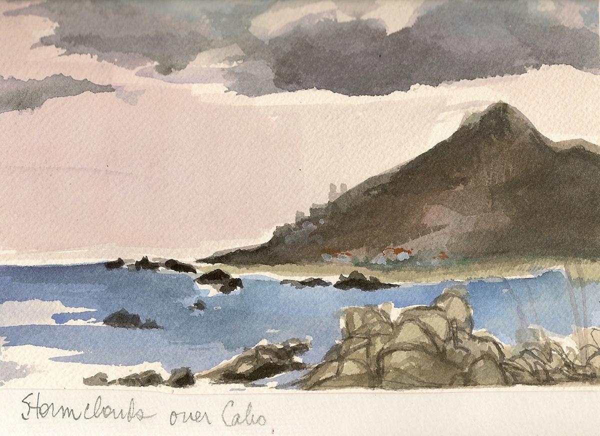 Cabo Mexico Travel Illustration
