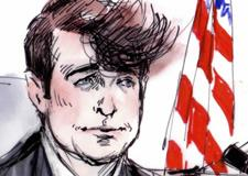 Robin Thicke Blurred Lines Trial Illustration