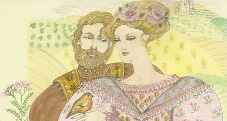 Prince and Princess Childrens Illustration